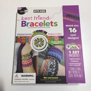 Kids activity bracelet making kit